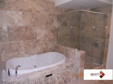 Tile bathrooms phoenix az right tile llc for 0 bathroom installation