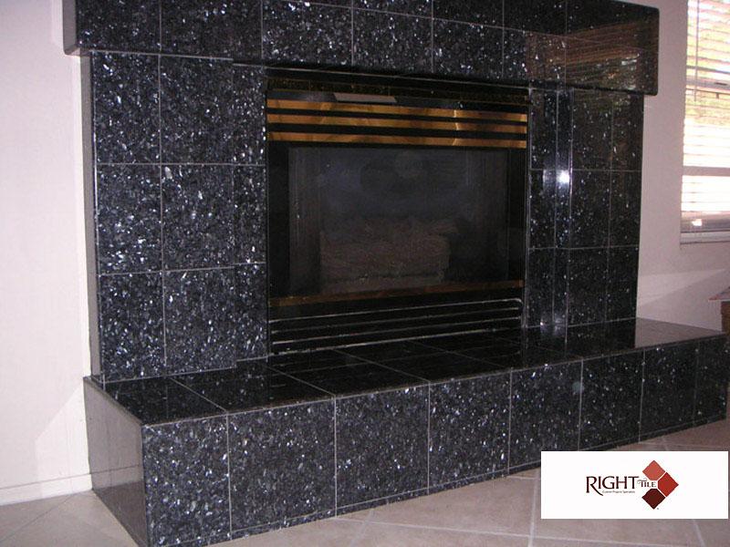Tile Fireplaces Phoenix Az Right Tile Llc