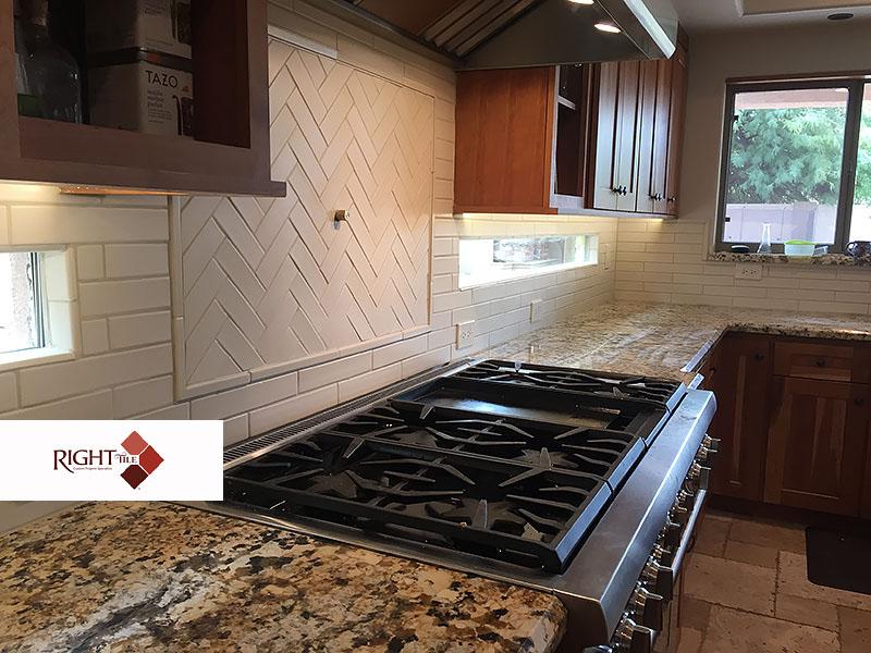 Tile Kitchens Phoenix AZ   Right Tile, LLC